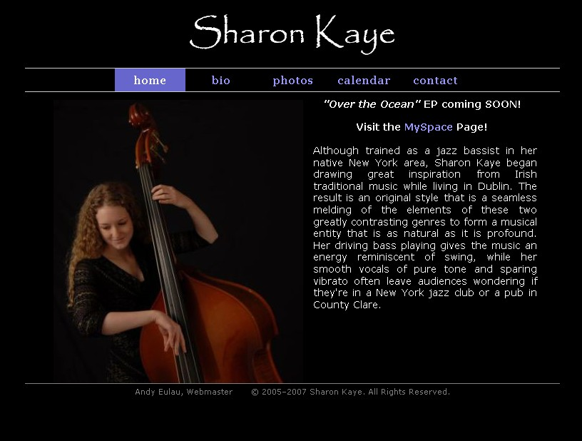 sharonkaye.net homepage
